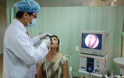 Phòng vật lý trị liệu bệnh viện YHCT Tai mũi họng Quân dân 102