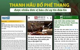 Nhiều tờ báo uy tín đánh giá cao Thanh hầu bổ phế thang