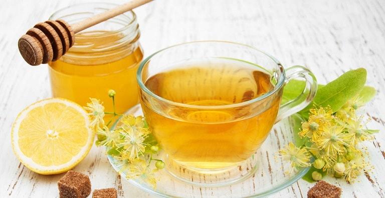 Sử dụng mật ong và chanh
