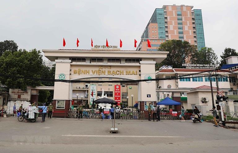 Bệnh viện Bạch Mai là một trong những địa chỉ cắt amidan uy tín