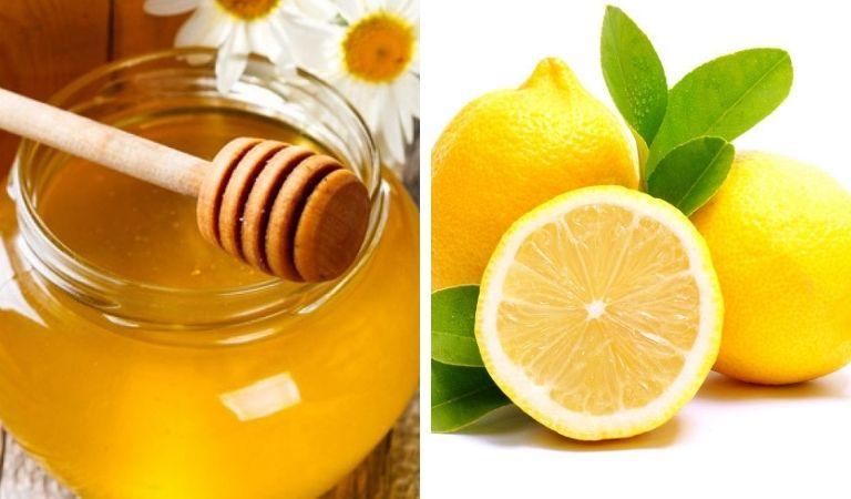 Mật ong và chanh trị viêm amidan