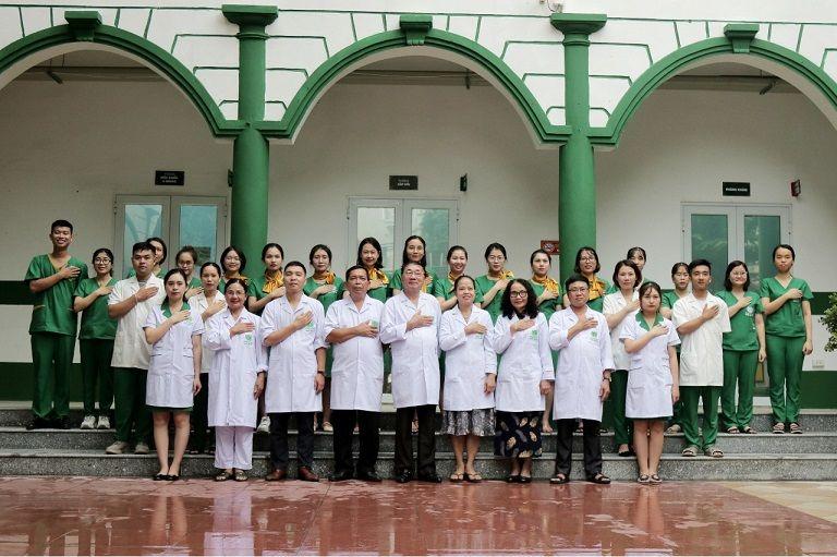 Đội ngũ y bác sĩ giỏi chuyên môn, giàu kinh nghiệm tại Bệnh viện Tai Mũi Họng Quân dân 102