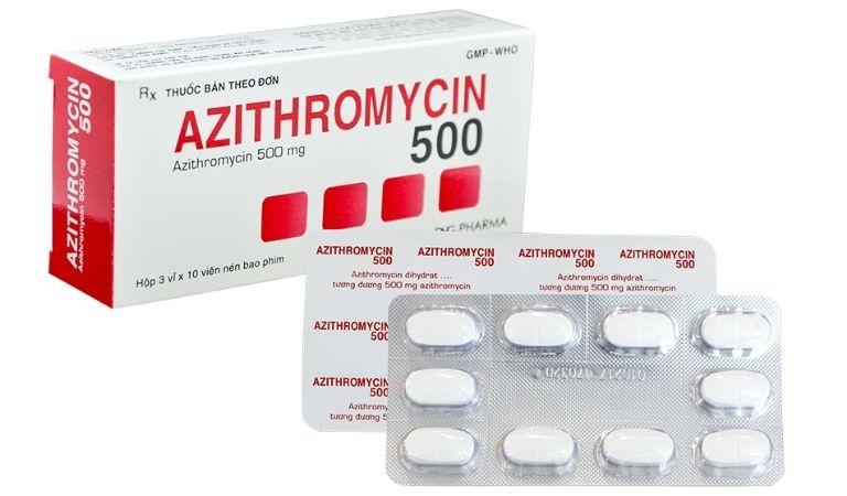 Cách sử dụng Azithromycin