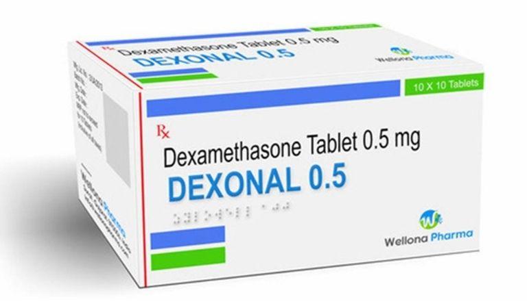 Dexamethasone được dùng nhiều trong đơn thuốc trị viêm họng