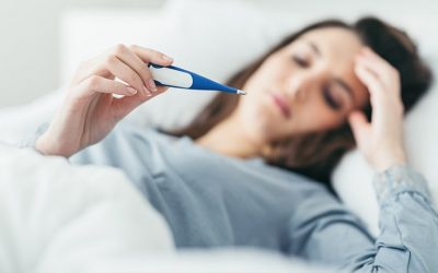 viêm amidan có gây sốt không