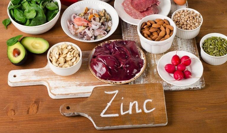Thực phẩm chứa nhiều kẽm giúp cải thiện hiệu quả viêm amidan