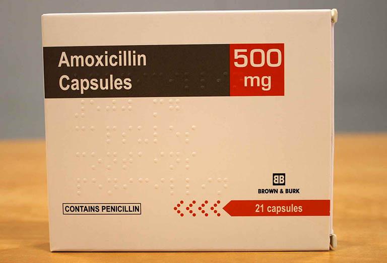 Thuốc kháng sinh Amoxicillin chữa viêm amindan