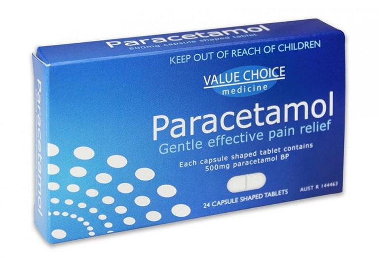 Thuốc giảm đau, hạ sốt sẽ được bác sĩ chỉ định trong quá trình điều trị viêm amidan