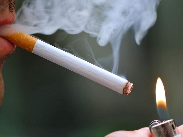 Người bệnh tuyệt đối không hút thuốc lá