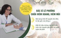 Bác sĩ Lê Phương Quân dân 102 - Hơn 40 năm kinh nghiệm điều trị viêm mũi, viêm xoang
