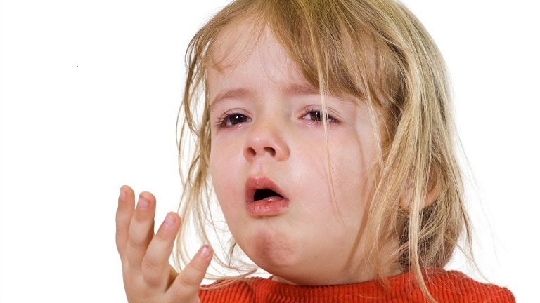 Khi phát bệnh trẻ có thể bị ho rất dữ dội