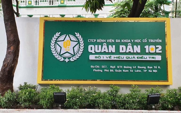 Bệnh viện Tai mũi họng Quân dân 102