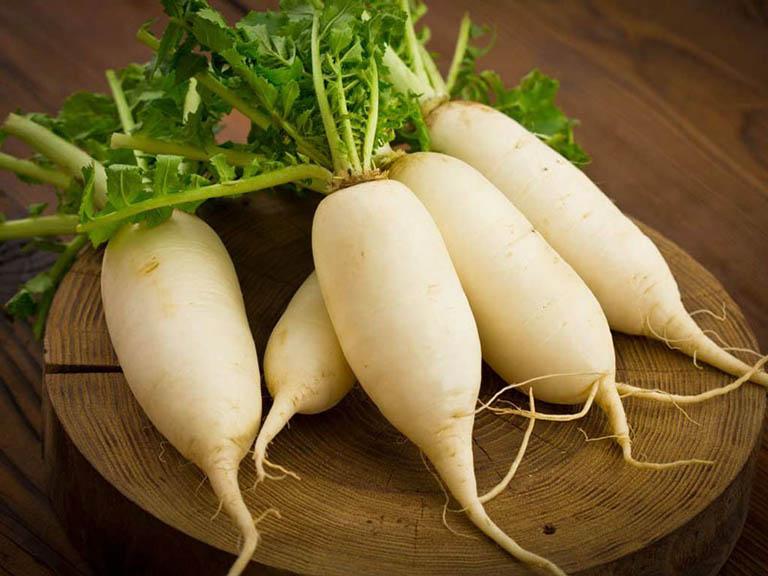 Củ cải trắng không chỉ được dùng để chế biến món ăn, mà còn là một vị thuốc quý trong y học cổ truyền