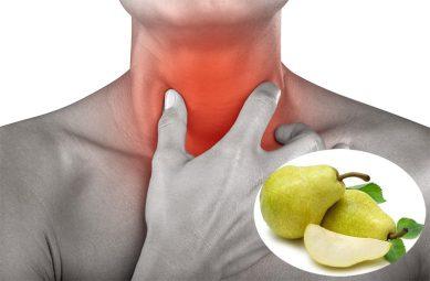 Chữa viêm họng bằng quả lê kết hợp với các dược liệu khác giúp người bệnh cải thiện nhanh chóng tình trạng đau rát họng, ho dai dẳng