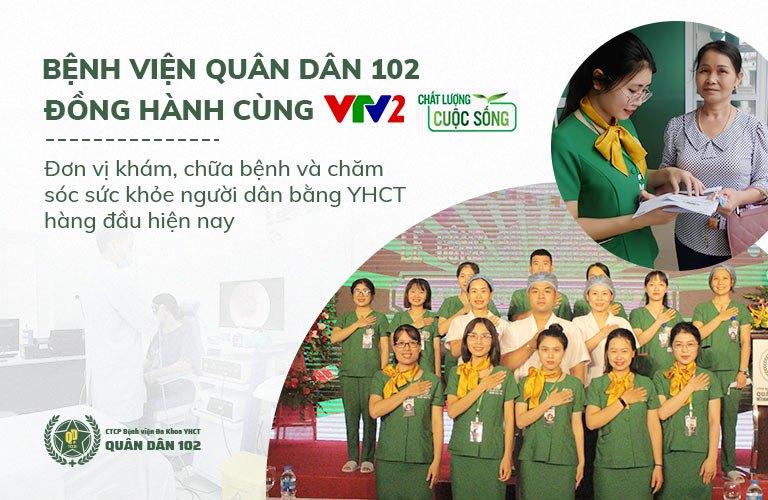 Bệnh viện Đa khoa YHCT Quân dân 102 trên VTV2