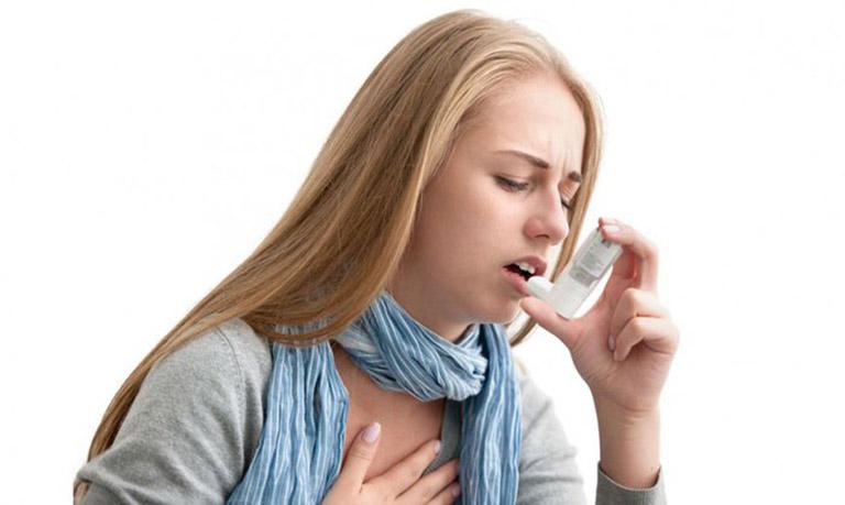 Hen suyễn là một trong những nguyên nhân gây ra tình trạng này