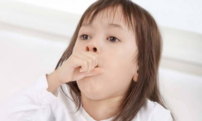 Trẻ ho nhiều có thể do bệnh ho gà