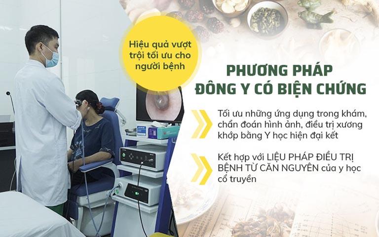 Phương pháp Đông y có biện chứng tại Bệnh viện Quân dân 102