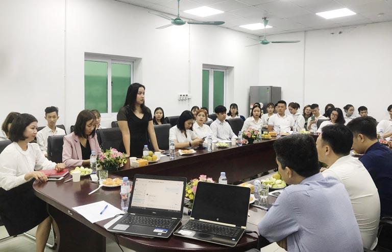 Ths. Đỗ Thị An, Giảng viên Khoa Tâm lý trường Đại học Lao Động Xã Hội phát biểu