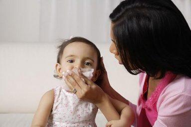 Sổ mũi do cảm lạnh hoặc cảm cúm