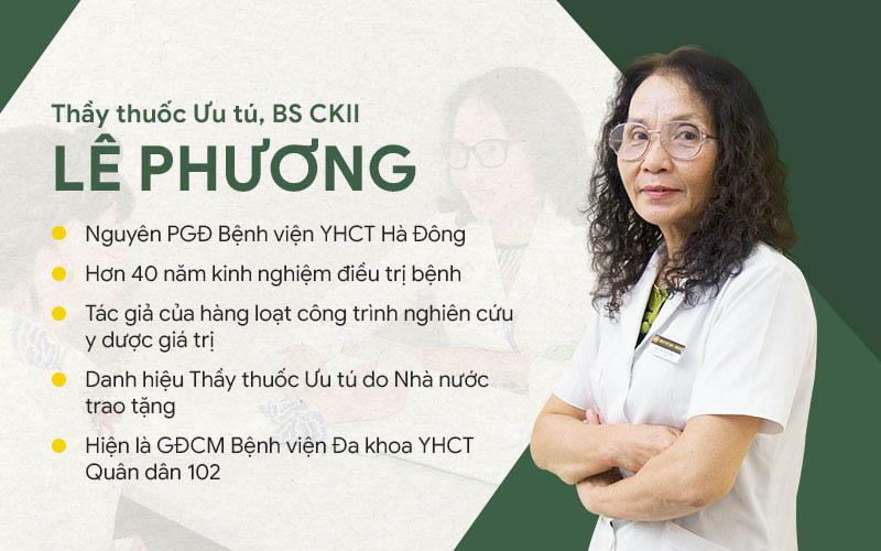 Thầy thuốc Ưu tú, BS CKII Lê Phương