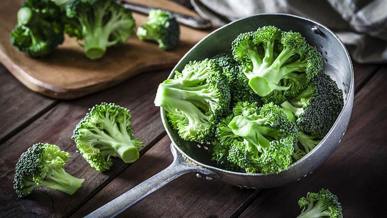 Bông cải xanh là loại rau tốt cho trẻ