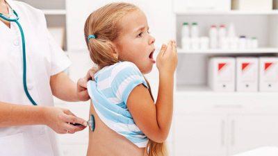 Trẻ bị viêm phế quản
