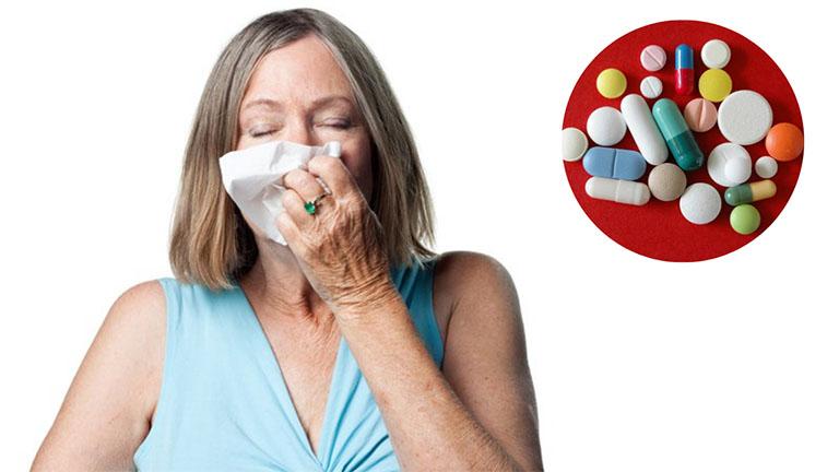 Điều trị viêm mũi dị ứng bằng thuốc Tây y có thể cải thiện nhanh chóng các triệu chứng bệnh