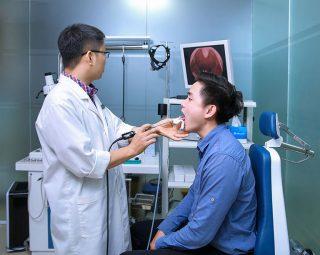 Ứng dụng tây trong chẩn đoán bệnh viêm amidan tại bệnh viện Quân dân 102