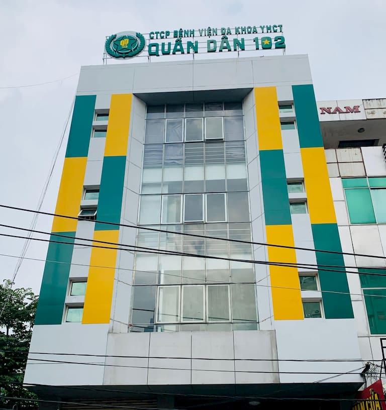 Phòng khám chuyên khoa YHCT Quân Dân 102 Tp.HCM