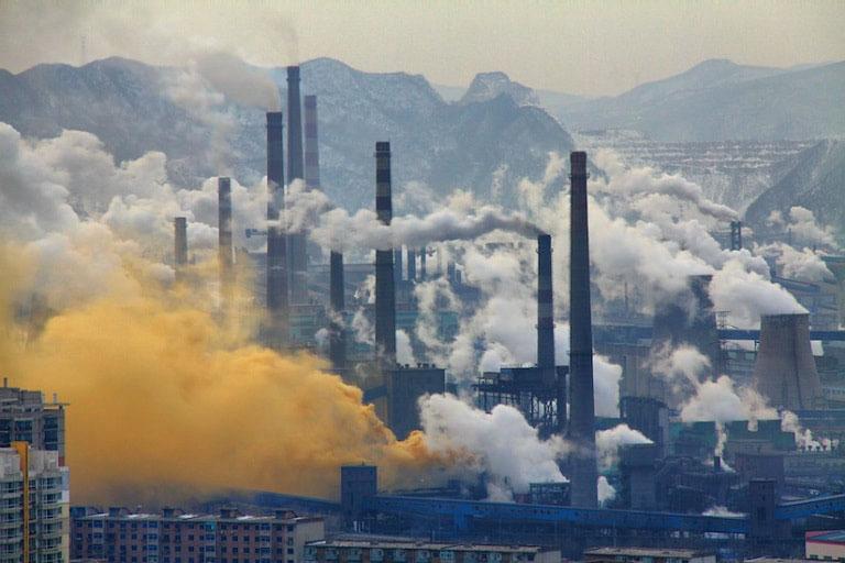 Yếu tố không khí, khói bụi, chất độc hại trong môi trường tác động lên hệ hô hấp