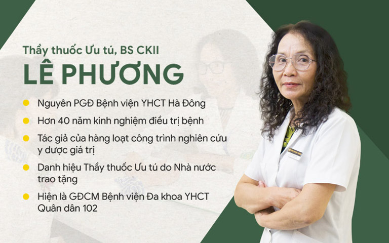 Bác sĩ Lê Phương đã có nhiều cống hiến cho nền y học nước nhà