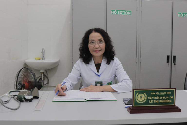 Bác sĩ Lê Phương - Giám đốc chuyên môn của bệnh viện