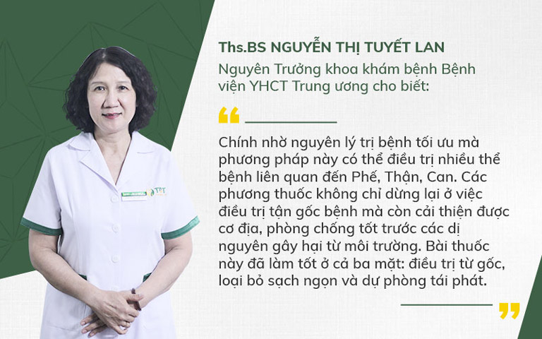 Đánh giá của chuyên gia về bài thuốc đặc trị ho của TMH Quân dân 102