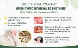 Liệu trình điều trị viêm họng với bài thuốc Thanh Hầu Bổ Phế Thang