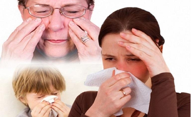 Đau đầu vì viêm xoang khiến người bệnh mệt mỏi
