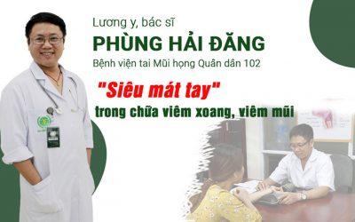 """Lương y Phùng Hải Đăng: """"Siêu mát tay"""" trong chữa viêm xoang, viêm mũi bằng y học cổ truyền"""