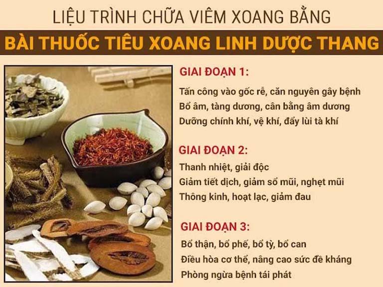 Chữa bệnh an toàn, hiệu quả với bài thuốc Tiêu xoang linh dược thang của Bệnh viện Tai mũi họng Quân dân 102