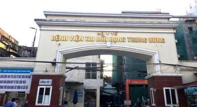 Khám viêm xoang tại bệnh viện Tai Mũi Họng Trung Ương