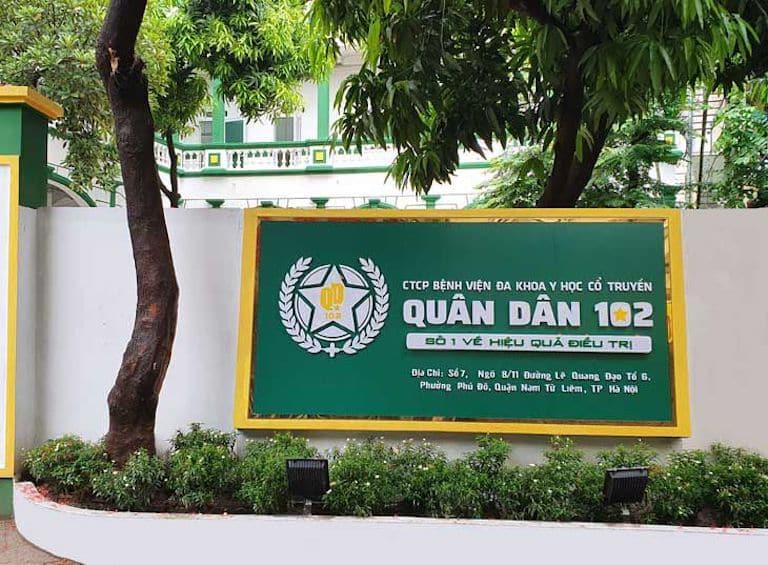 Viêm xoang khám ở đâu tốt? Lựa chọn bệnh viện Tai Mũi Họng Quân dân 102