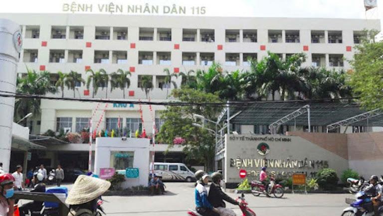 Bệnh viện nhân dân 115 có đội ngũ bác sĩ giàu kinh nghiệm trong khám và điều trị bệnh lý