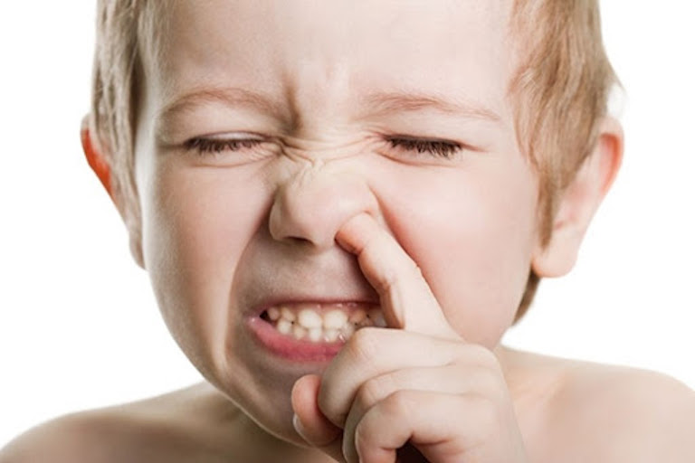 Tình trạng chảy máu có thể bắt nguồn từ thói quen hay chọc và ngoáy mũi