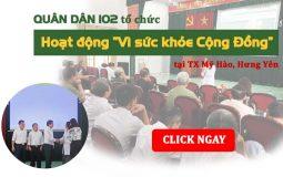 Hoạt động thiện nguyện tại Hưng Yên
