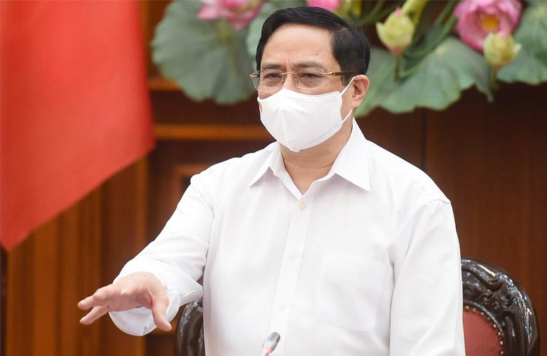 Thủ tướng Phạm Minh Chính ra công diện chấn chỉnh, nâng cao hiệu quả công tác phòng, chống dịch COVID-19