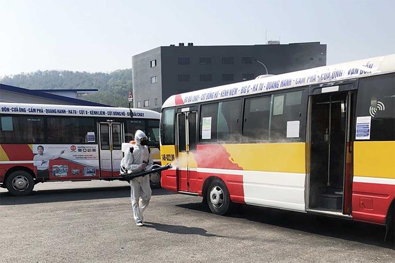 Bắc Ninh tạm dừng hoạt động xe buýt, xe khách và taxi