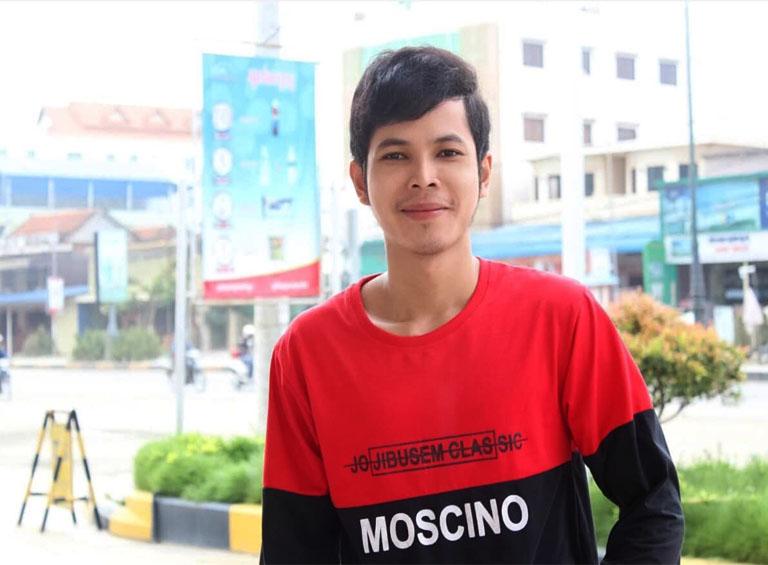 Anh Trần Văn Nhựt từng điều trị viêm họng tại PK YHCT Quân dân 102