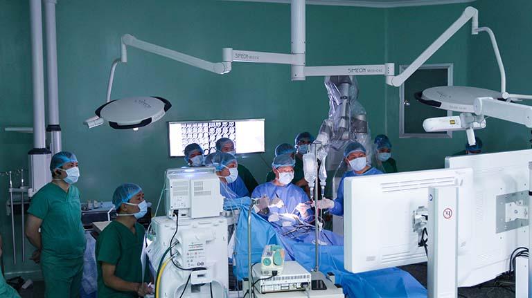 Bệnh viện Nhân dân 115 áp dụng nhiều kỹ thuật công nghệ hiện đại trong chữa bệnh