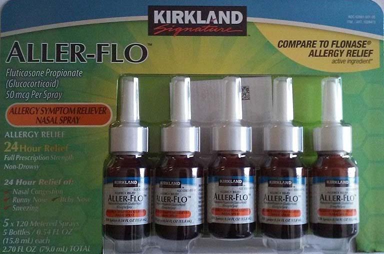 Viêm xoang sàng sau uống thuốc gì: Kirkland Aller-flo