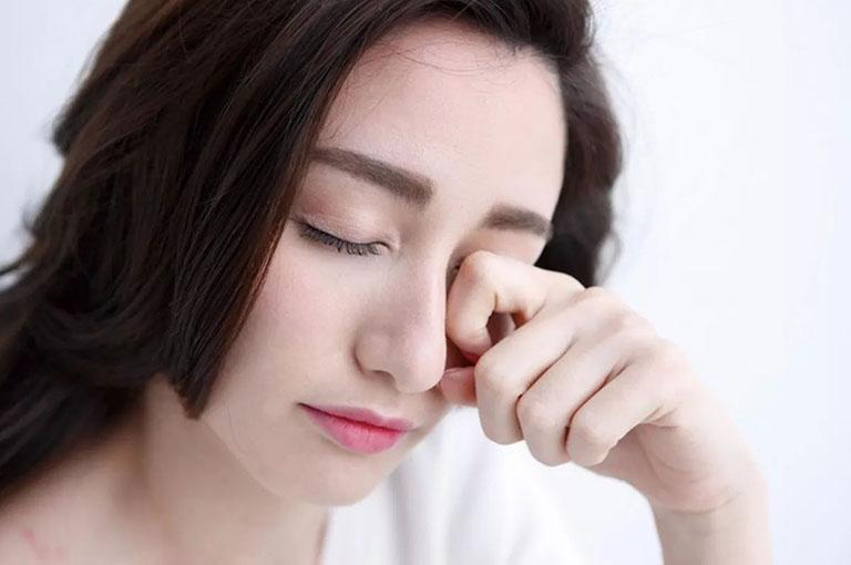Người bệnh có thể bị ảnh hưởng thị giác nếu không xử lý viêm xoang bướm