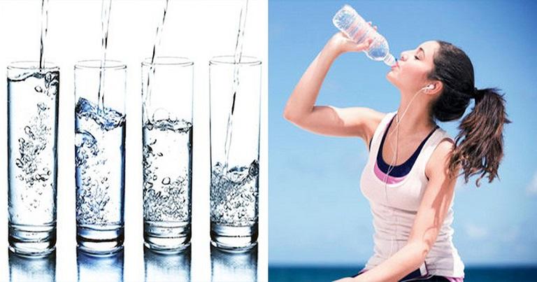 Bổ sung đủ nước mỗi ngày là yêu cầu quan trọng
